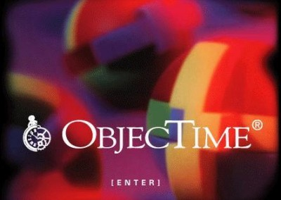 Old ObjecTime site header from an early version of the Objective website